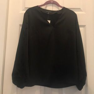Banana Republic black blouse size xs